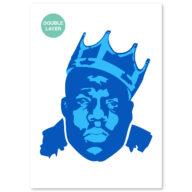 Notorious BIG stencil, idool sjabloon