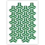 Escher patroon sjabloon stencil
