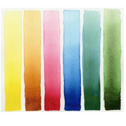 Daniel Smith Watercolor Half-Pans waterverf set Floral