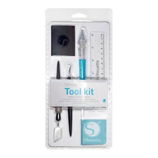 silhouette tool kit voor snijmatten te gebruiken bij sjablonen maken en stencil art