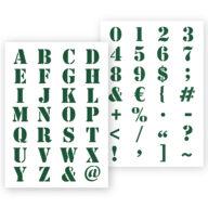 Alphabet letters sjabloon graffiti stencil