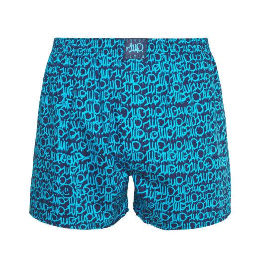 1UP x Lousy Livin boxershort OneUp 5.0 - Blauw onderbroek man