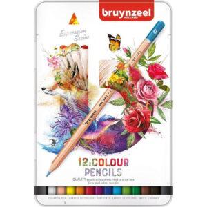 kleurpotloden Bruynzeel potloden kopen. Kleurpotloden set in blik van 12 stuks