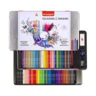 kleurpotloden Bruynzeel potloden kopen. Kleurpotloden set in blik van 70 stuks