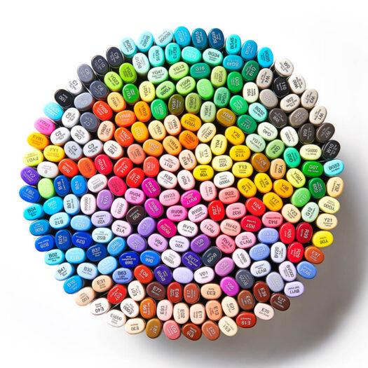 copic sketch markers kleuren