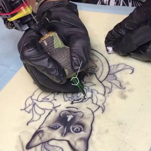 tattoo oefenhuid voor tatoeëren en microblading